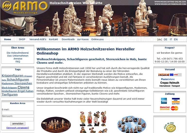 Armo woodcarvings